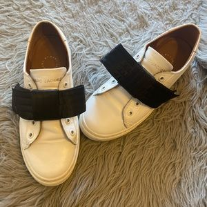 Marc by Marc Jacobs white bowknot sneakers shoes